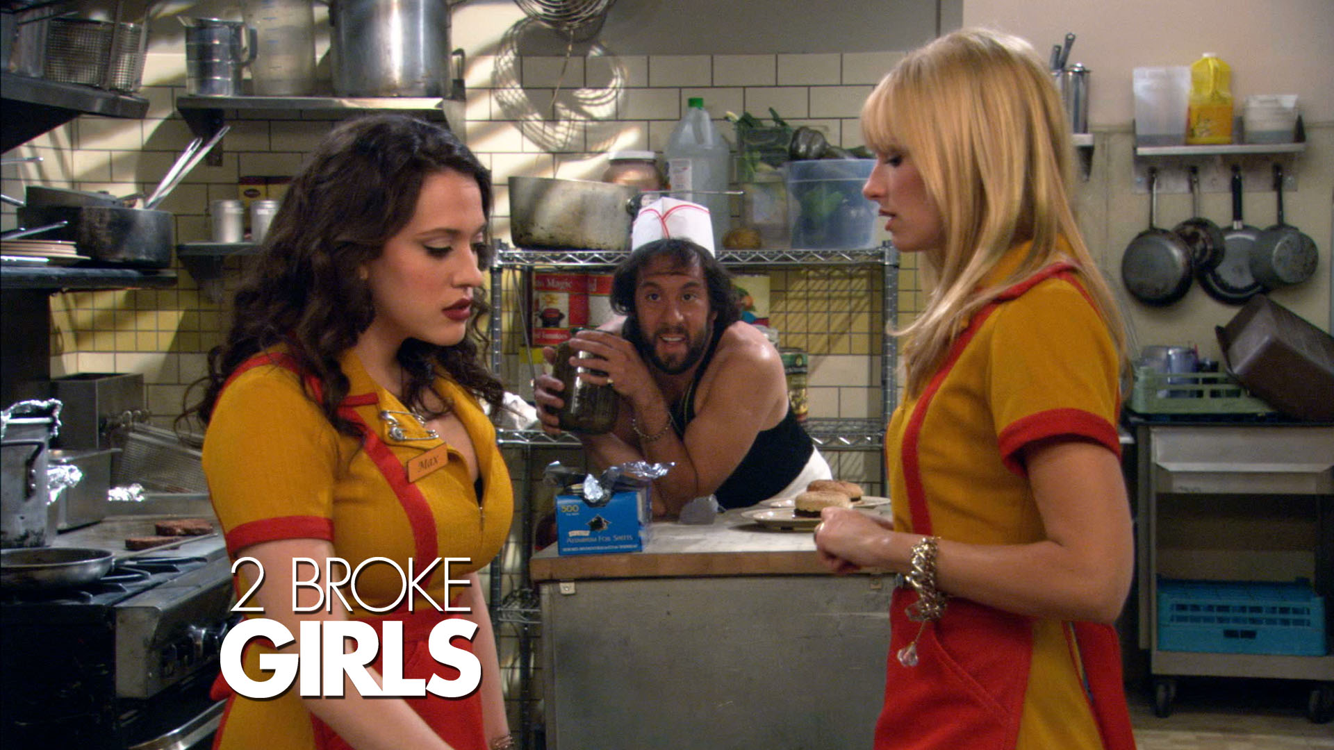 """Download: 2 Broke Girls 1×16 """"And The Broken Hearts"""""""